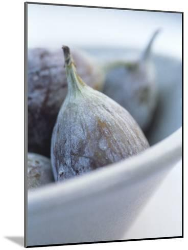 Fresh Figs in a Bowl-Petr Blaha-Mounted Photographic Print