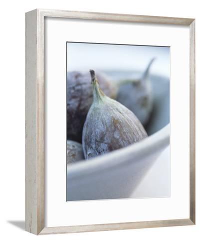 Fresh Figs in a Bowl-Petr Blaha-Framed Art Print