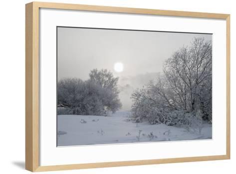 Frost- afrutin-Framed Art Print
