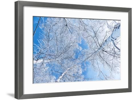 Tops of Trees against the Sky-Alexandr Vasilyev-Framed Art Print