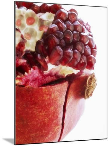 Opened Pomegranate, Close-Up-Dieter Heinemann-Mounted Photographic Print