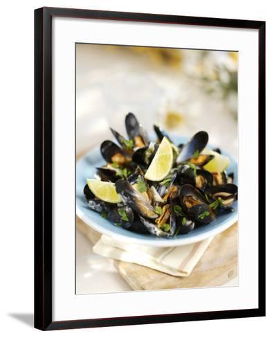 Marinated Mussels-Ian Garlick-Framed Art Print