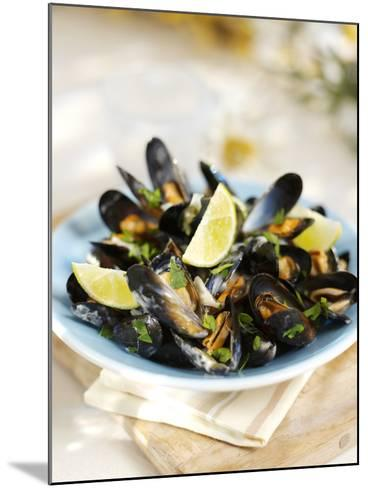Marinated Mussels-Ian Garlick-Mounted Photographic Print