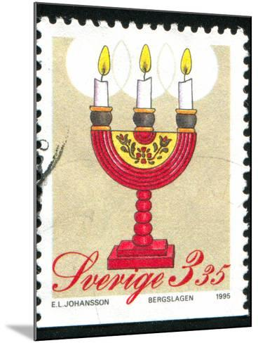 Christmas Candlesticks-rook76-Mounted Photographic Print