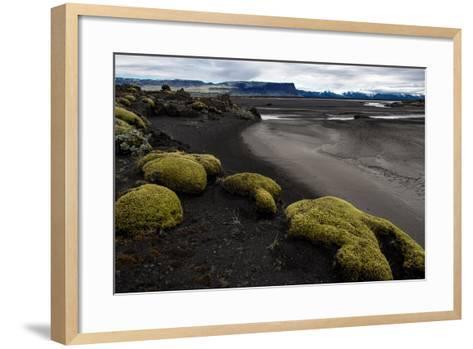 Tundra Moon Walk Iceland- contemart-Framed Art Print