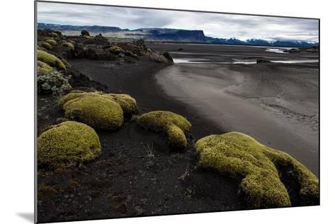 Tundra Moon Walk Iceland- contemart-Mounted Photographic Print