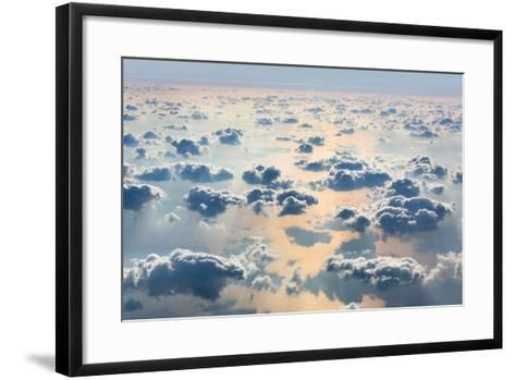 Sky with Clouds- misu-Framed Art Print