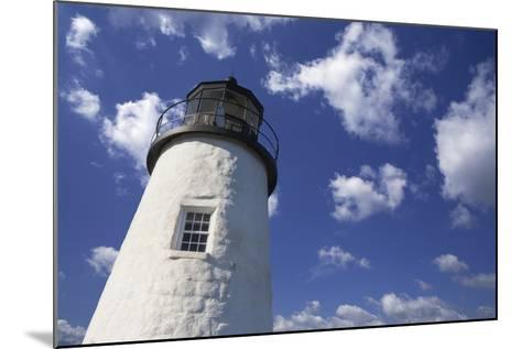 Lighthouse in the Cloudy Sky- benemale-Mounted Photographic Print
