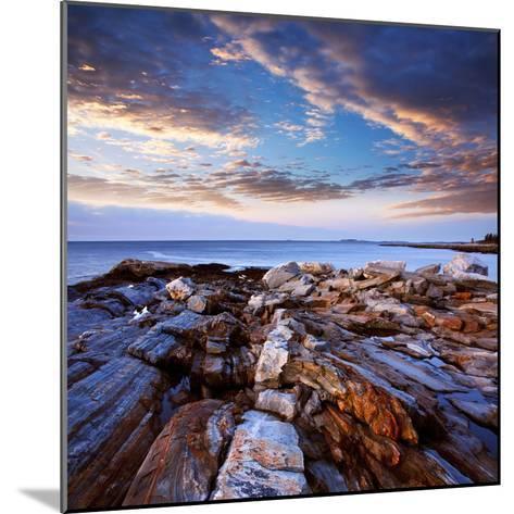 Pemaquid Point Coast, Bristol Maine-Paul Lemke-Mounted Photographic Print