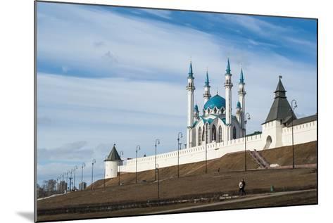 Kazan Kremlin, View of the Kul-Sharif Mosque- gospodin_mj-Mounted Photographic Print