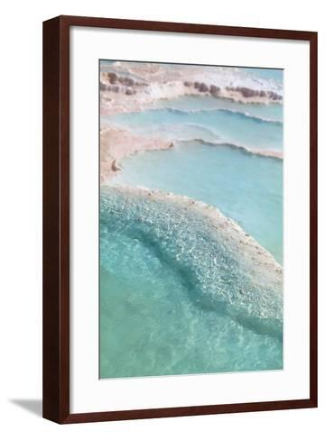 Pamukkale Travertines-EvanTravels-Framed Art Print