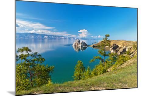 Summer on Lake Baikal. Sunny Day on Olkhon Island-katvic-Mounted Photographic Print