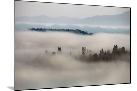 Mountain Fog- vchornyy-Mounted Photographic Print