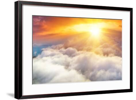 Sunset-denis_333-Framed Art Print