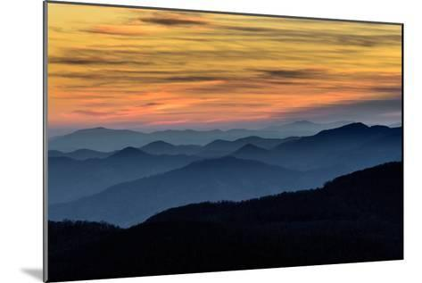 Layers of the Blue Ridge Mountains-skiserge1-Mounted Photographic Print