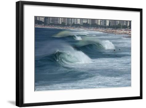 Rio De Janeiro- sattriani-Framed Art Print
