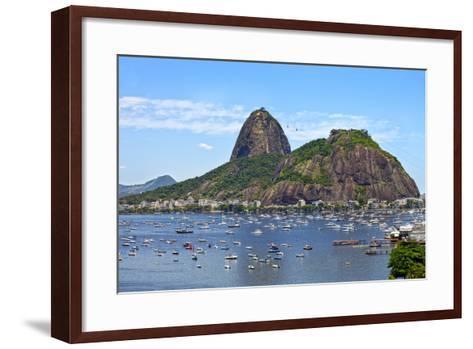 Sugar Loaf, Rio De Janeiro- sattriani-Framed Art Print