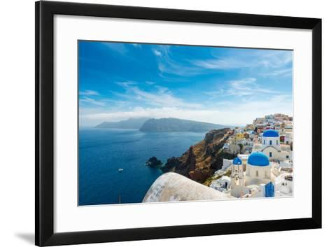 Santorini,Greece-Pavel Timofeev-Framed Art Print