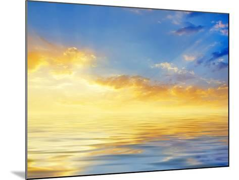 Sunset-tycoon101-Mounted Photographic Print