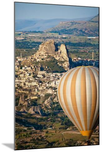 Hot Air Balloons over Cappadocia, Turkey-EvanTravels-Mounted Photographic Print