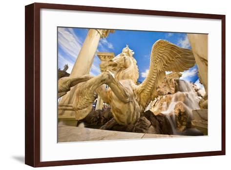 Horse Sculpture-EvanTravels-Framed Art Print
