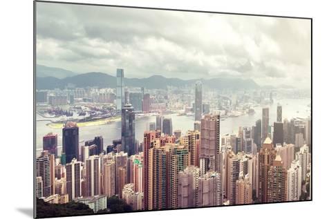Hong Kong Island-lapas77-Mounted Photographic Print