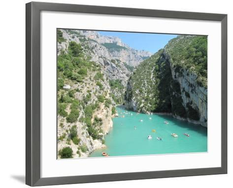 Verdon Schlucht- emotionpictures-Framed Art Print