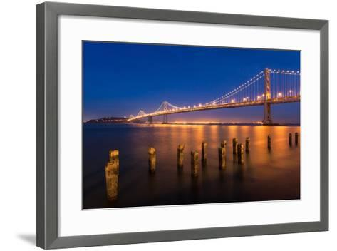 San Francisco Bay Bridge-nstanev-Framed Art Print