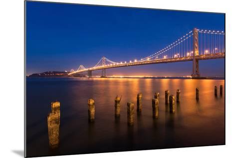 San Francisco Bay Bridge-nstanev-Mounted Photographic Print