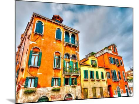 Beautiful Buildings at Venice Italy. HDR Processed-imagIN photography-Mounted Photographic Print
