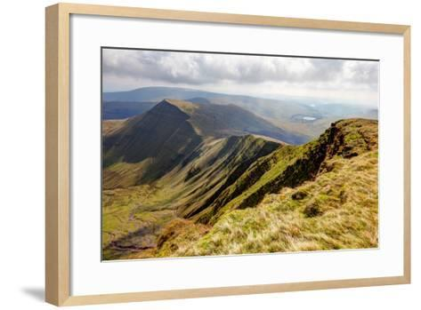 Brecon Beacons National Park from Pen Y Fan-antbphotos-Framed Art Print