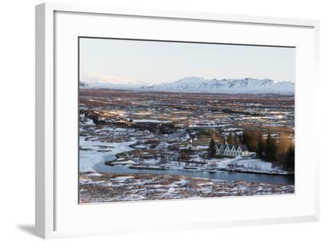 Pingvellir- fabriziomatera-Framed Art Print