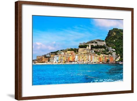 Portovenere - Liguria Italy-Alberto Masnovo-Framed Art Print