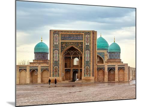Hast Imam Square (Hazrati Imam) is a Religious Center of Tashken- barelko com-Mounted Photographic Print