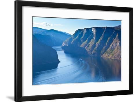 Norway - Fjord Region-berzina-Framed Art Print