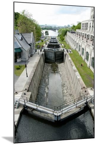 Rideau Canal Locks - Ottawa- adwo-Mounted Photographic Print