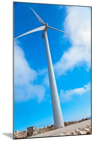 Modern Wind Turbine against Sky-EvanTravels-Mounted Photographic Print