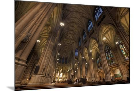 Interior of St Patrick's Cathedral, Manhattan-EvanTravels-Mounted Photographic Print