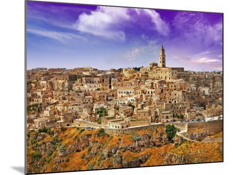 Incretible Italy Series - Ancient Mattera, Basilicata-Freesurf-Mounted Photographic Print