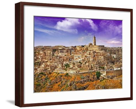 Incretible Italy Series - Ancient Mattera, Basilicata-Freesurf-Framed Art Print