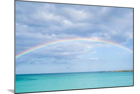 Rainbow over Ocean-bradcalkins-Mounted Photographic Print