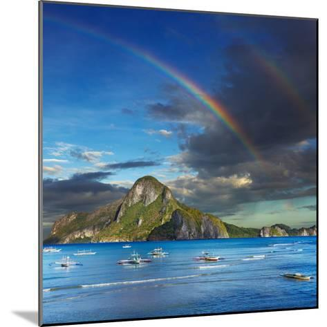 El Nido Bay, Philippines-Dmitry Pichugin-Mounted Photographic Print
