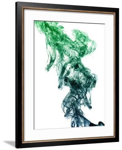 Colored Smoke-Alekss-Framed Art Print