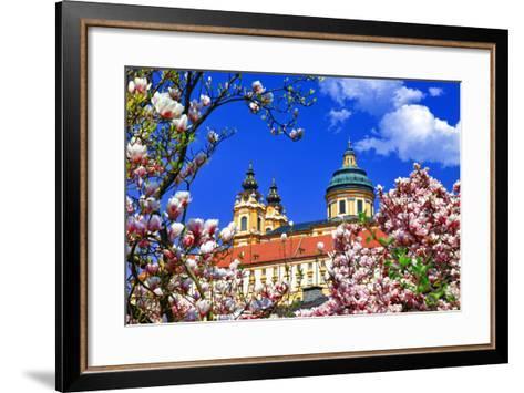 Benedictine Abbey in Melk, Austria-Freesurf-Framed Art Print
