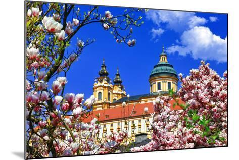 Benedictine Abbey in Melk, Austria-Freesurf-Mounted Photographic Print