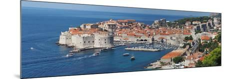 Dubrovnik, Croatia, Panorama of the Medieval City- frederic49-Mounted Photographic Print