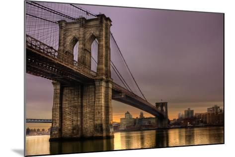Brooklyn Bridge - New York City, Ny, USA-EvanTravels-Mounted Photographic Print