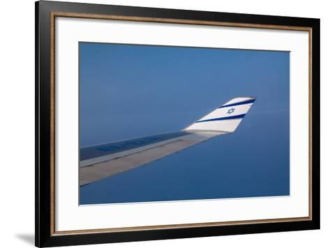 Israeli Airplane Wing-EvanTravels-Framed Art Print