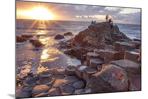 Sunset at Giant S Causeway-Aitormmfoto-Mounted Photographic Print