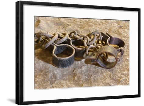 The Irons from Oubliette the Castle.-Ren?ta Sedm?kov?-Framed Art Print